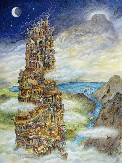 Tower of Babel-Bill Bell-Giclee Print