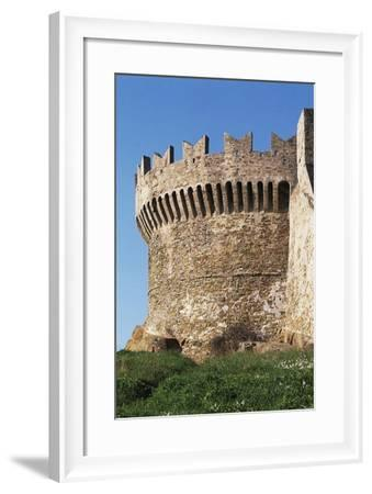 Tower of Fortress, 14th-15th Century, Populonia, Tuscany, Italy--Framed Giclee Print