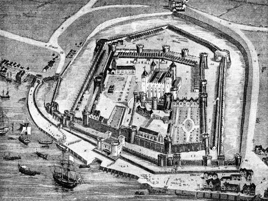 Tower of London, 16th century (1909). Artist: Unknown-Unknown-Giclee Print