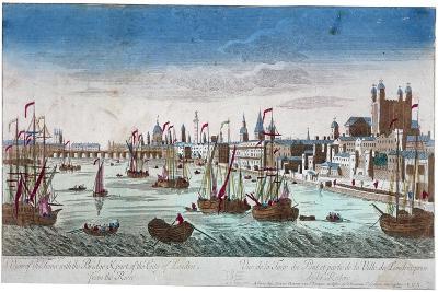 Tower of London, 1766--Giclee Print