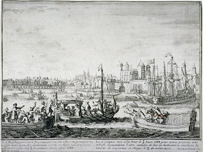 Tower of London, C1688-P Pickaert-Giclee Print