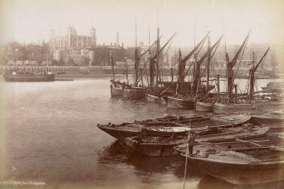 Tower of London from Horsleydown, London, C.1885--Photographic Print