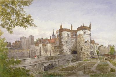Tower of London, Stepney, London, 1883-John Crowther-Giclee Print