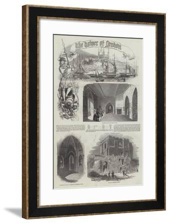 Tower of London--Framed Giclee Print