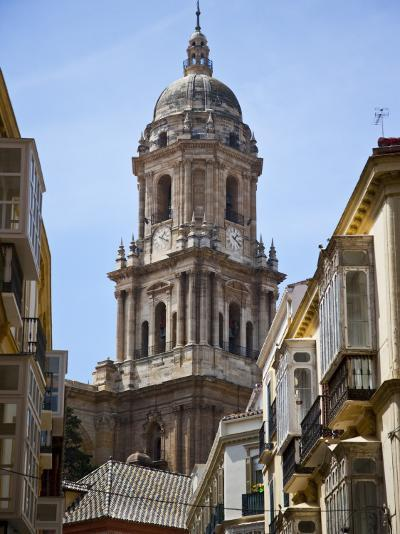 Tower of the Cathedral of Malaga, Andalusia, Spain-Carlos S?nchez Pereyra-Photographic Print