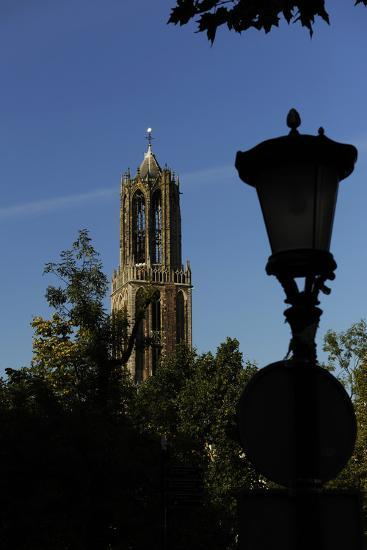 Tower of the Cathedral of Saint Martin, 14th Century, Utrecht--Photographic Print
