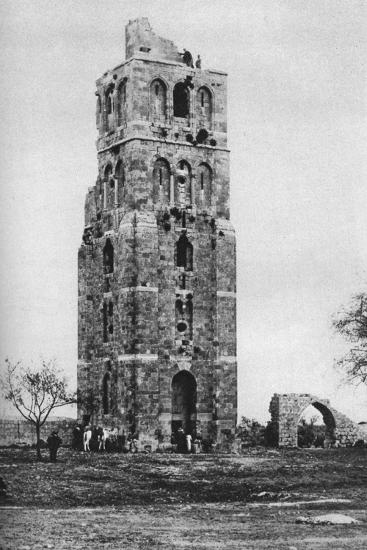 Tower of the Forty Martyrs, Ramla, Palestine, C1930S-Ewing Galloway-Premium Giclee Print