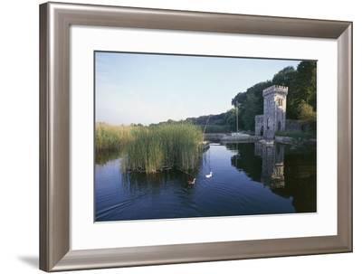 Tower of Villa Orlando, 19th Century, Lake Massaciuccoli, Torre Del Lago, Tuscany, Italy--Framed Photographic Print