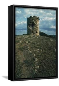 Tower on Cape Teulada, Sardinia, Italy