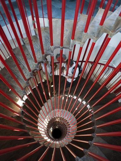 Tower Staircase Detail in Ljubljana Castle-Christopher Groenhout-Photographic Print