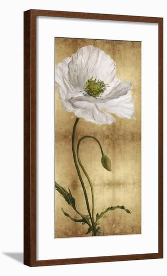 Towering Blooms - Panel II-Tania Bello-Framed Giclee Print
