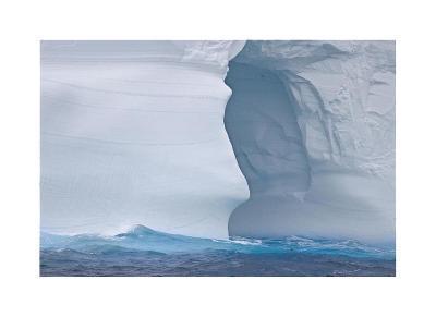 Towering Iceberg Sculptures-Donald Paulson-Giclee Print