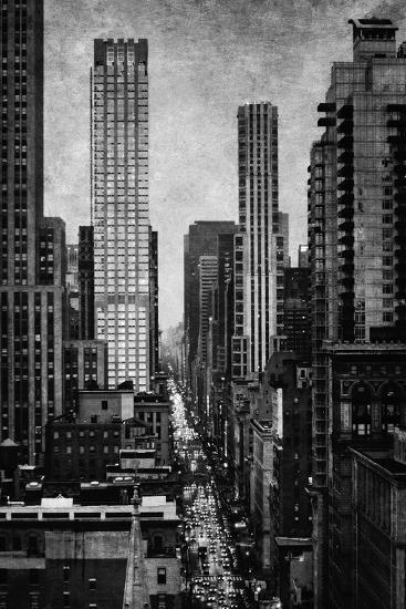 Towering New York-Pete Kelly-Giclee Print