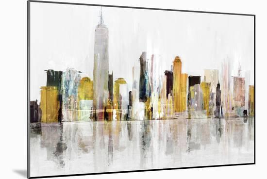 Towering Over Buildings III-Isabelle Z-Mounted Art Print