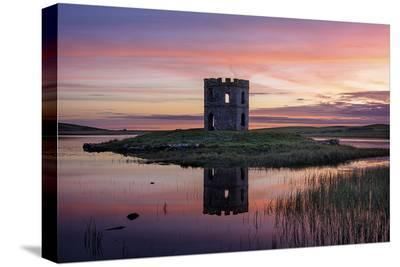 Towering Sunset-Michael Blanchette Photography-Stretched Canvas Print