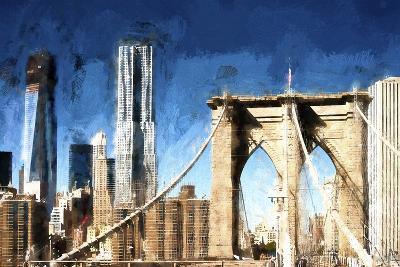 Towers City Bridge-Philippe Hugonnard-Giclee Print