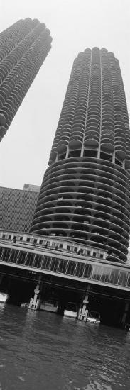 Towers, Marina Towers, Chicago, Illinois, USA--Photographic Print