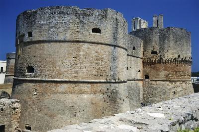 Towers of Aragonese Castle, Otranto, Apulia, Itlay--Giclee Print