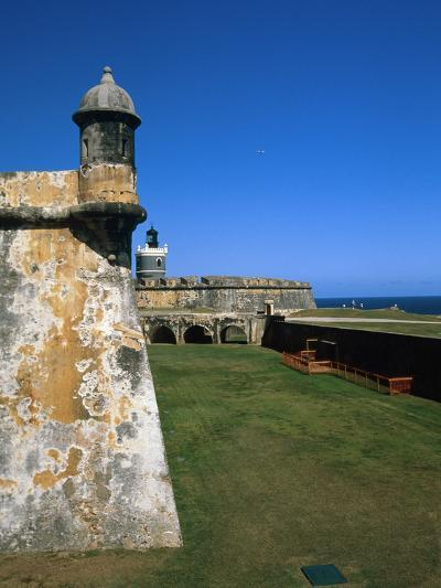 Towers of El Morro Fort Old San Juan Puerto Rico-George Oze-Photographic Print