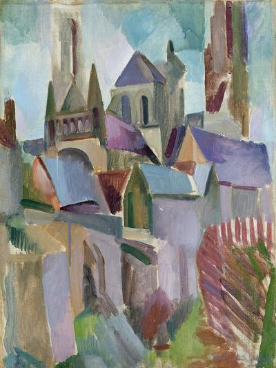Towers of Laon, 1912-Robert Delaunay-Giclee Print