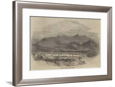 Town and Fortess of Arta, in Albania--Framed Giclee Print