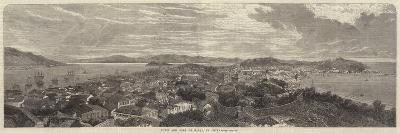 Town and Port of Macao, in China--Giclee Print