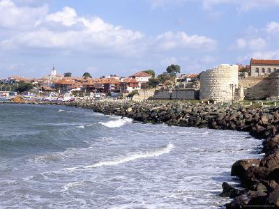 Town and Walls of Nesebar, Bulgaria-Richard Nebesky-Photographic Print