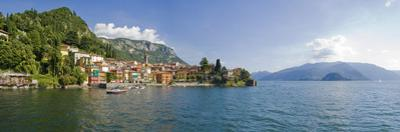 Town at the Lakeside, Lake Como, Como, Lombardy, Italy
