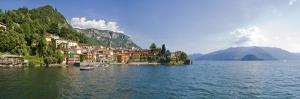 Town at the Lakeside, Lake Como, Como, Lombardy, Italy