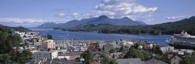 Town by the Water, Ketchikan, Alaska, USA--Photographic Print