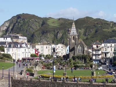 Town Centre, Ilfracombe, Devon, England, United Kingdom, Europe-Jeremy Lightfoot-Photographic Print