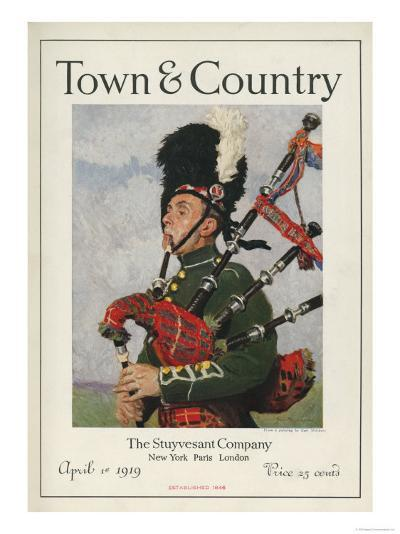 Town & Country, April 1st, 1919--Art Print