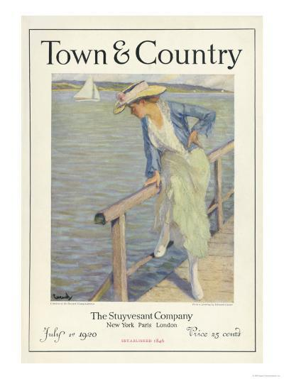 Town & Country, July 1st, 1920--Art Print