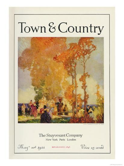 Town & Country, May 20th, 1921--Art Print