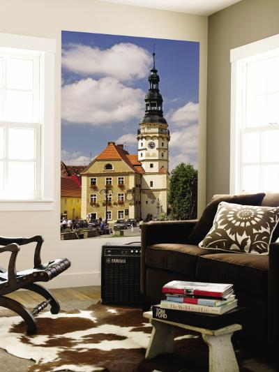 Town Hall at Rynek (Market Square)-Witold Skrypczak-Wall Mural