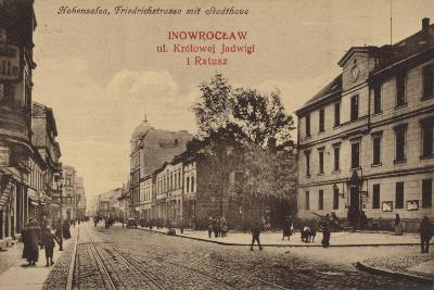 Town Hall, Friedrichstrasse, Hohensalza, Germany--Photographic Print