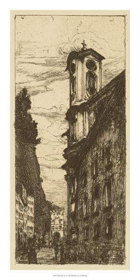 Town Hall II- Pfaff-Bader-Giclee Print