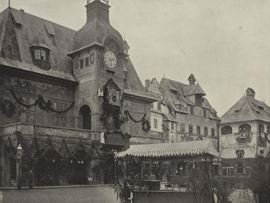 Town Hall in Old Vienna--Photographic Print