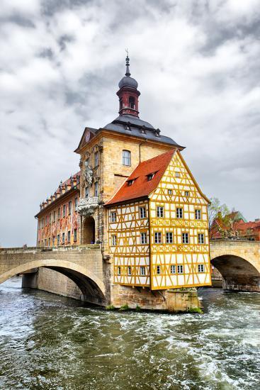 Town Hall on the Bridge, Bamberg, Germany-Zoom-zoom-Photographic Print