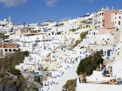 Town of Fira, Santorini Island, Cyclades, Greek Islands, Greece, Europe-Richard Cummins-Photographic Print