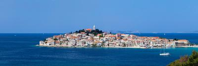 Town on a Coast, Primosten, Adriatic Coast, Dalmatia, Croatia--Photographic Print