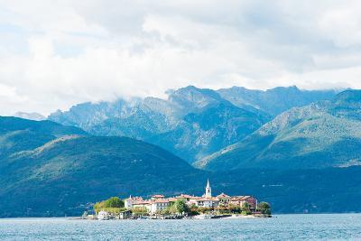 Town on an Island, Isola Dei Pescatori, Stresa, Lake Maggiore, Piedmont, Italy--Photographic Print