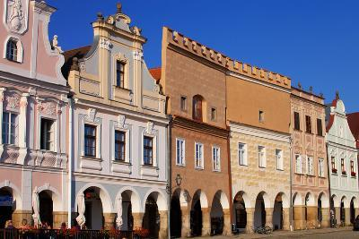 Town Square in Telc-vladislav333222-Photographic Print