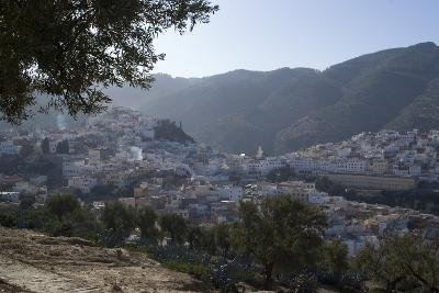 Town View, Moulay Idriss, Morocco-Natalie Tepper-Photo