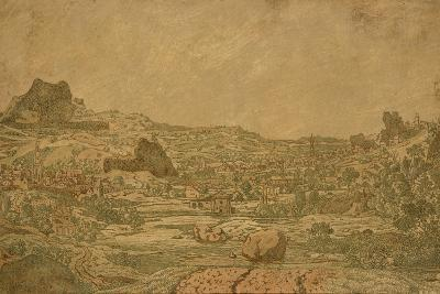 Town with Four Towers, C.1631 or Later-Hercules Segers-Giclee Print