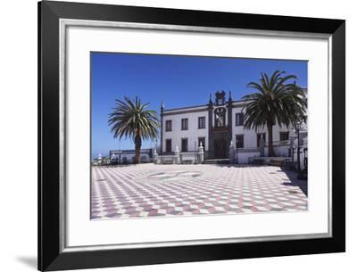Townhall at Plazza Virrey De Manila Square, Valverde, El Hierro, Canary Islands, Spain-Markus Lange-Framed Photographic Print