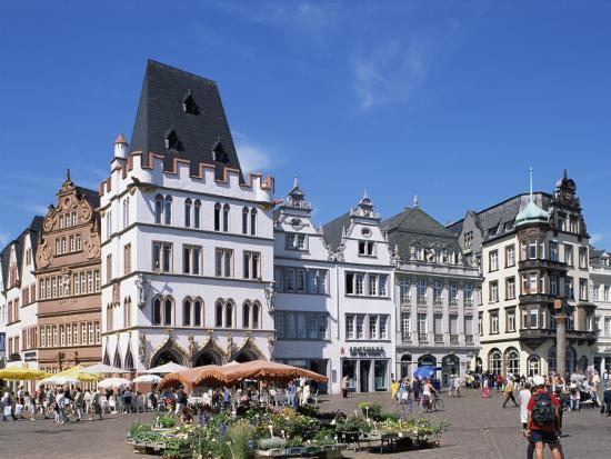 Townhall, Paderborn, North Rhine-Westphalia (Nordrhein-Westfalen), Germany-Hans Peter Merten-Photographic Print