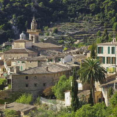 Townscape of Valldemossa, Majorca, Spain-Rainer Mirau-Photographic Print