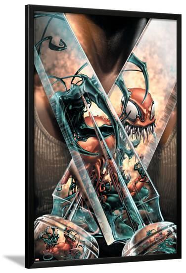 Toxin No.2 Cover: Razorfist and Toxin-Darick Robertson-Lamina Framed Poster