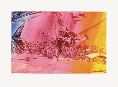 Toxique no 32 : le depart-Jacques Monory-Limited Edition